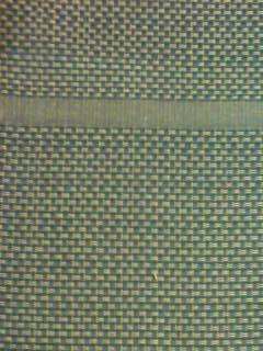דגם קלוע כחול בשילוב קרם מס' 9